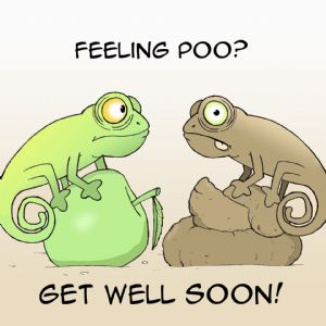 TW403 – Funny Get Well Soon Card
